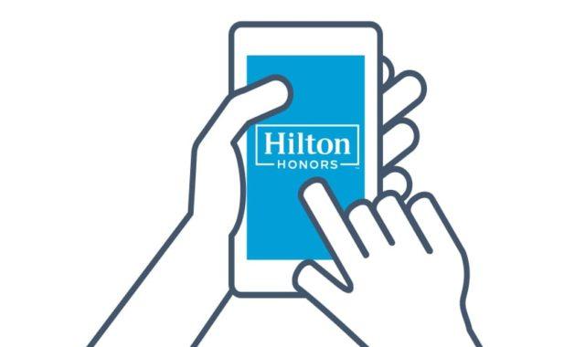 The Hilton Honors App