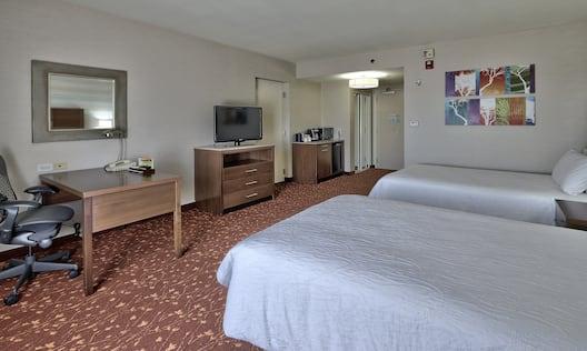 Accessible Queen Bedroom
