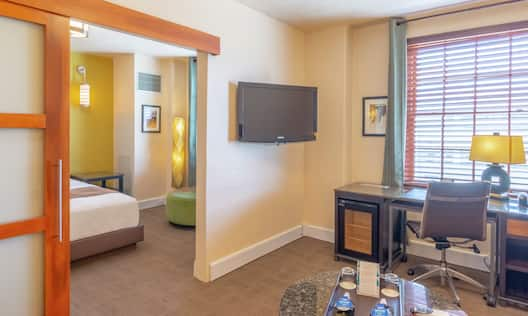 King Suite with Bed, Work Desk, and Room Technology