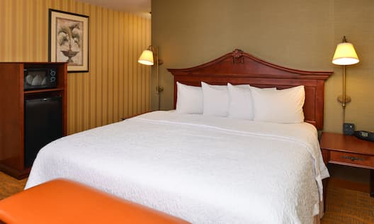 Guest Room - 1 King Bed