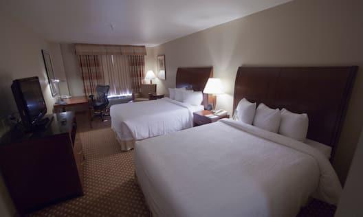 Double Queen Bed Guestroom