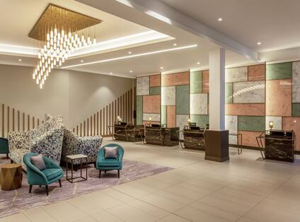 Reception with Comfortable Seating Area