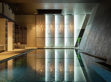 Large Indoor Heated Pool