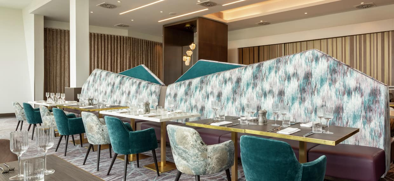 Dining Area at Restaurant