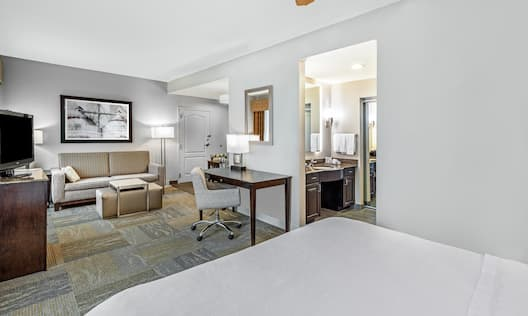 Suite with full kitchen