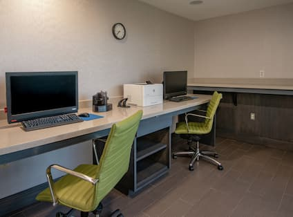 Business Center with Computer Stations