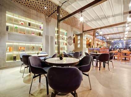 Dining Area at The Tree Bar and Restaurant