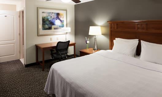 Queen Bed Accessible Room