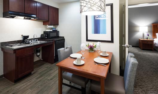 Accessible Room Kitchen