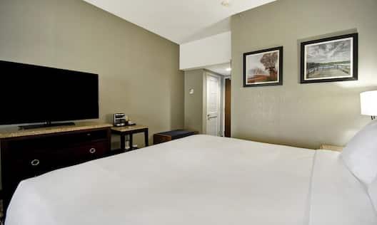 Single King Bed Guest Bedroom