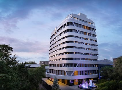 DoubleTree by Hilton Almaty Exterior