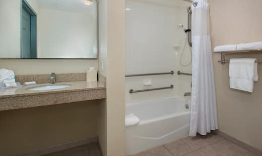 Bathroom with Accessible Tub