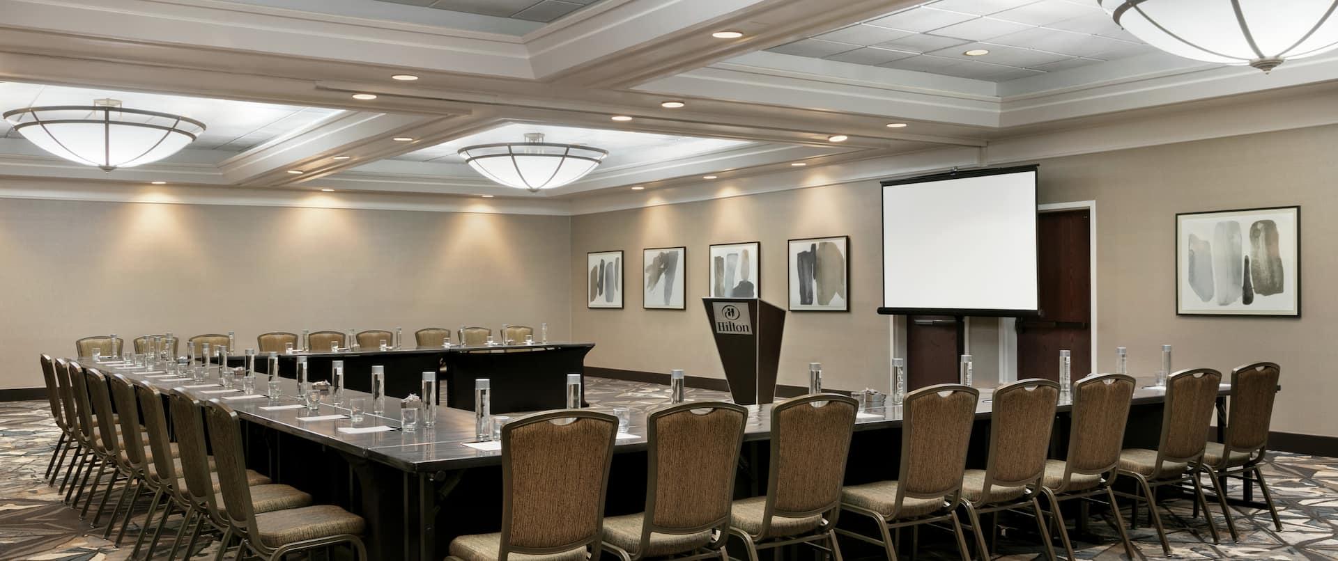 Meeting Room Setup U Shape Style