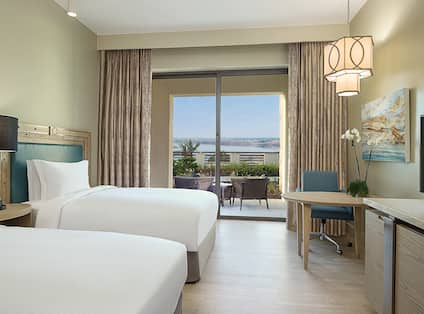 Double Beds Room with Terrace