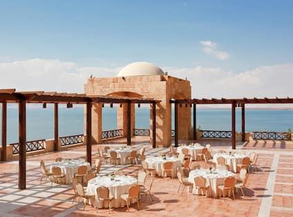 Ground Floor Terrace Tables Sea View