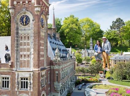 Miniature Town Shot