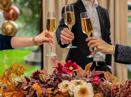 Meeting Event - Champagne Toast