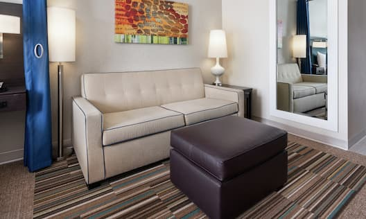 Lounge Area Seating in Suite