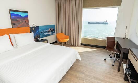 Queen Ocean View Bedroom