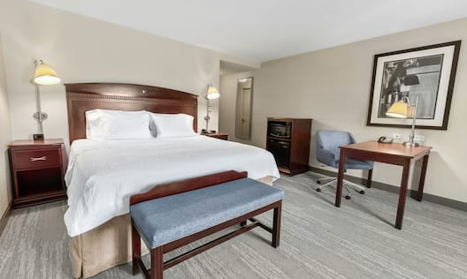 Single King Standard Guestroom