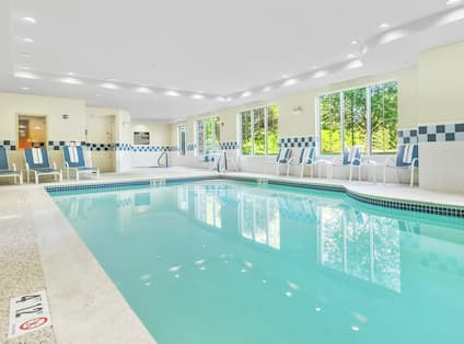Hotel Indoor Pool and Hot Tub