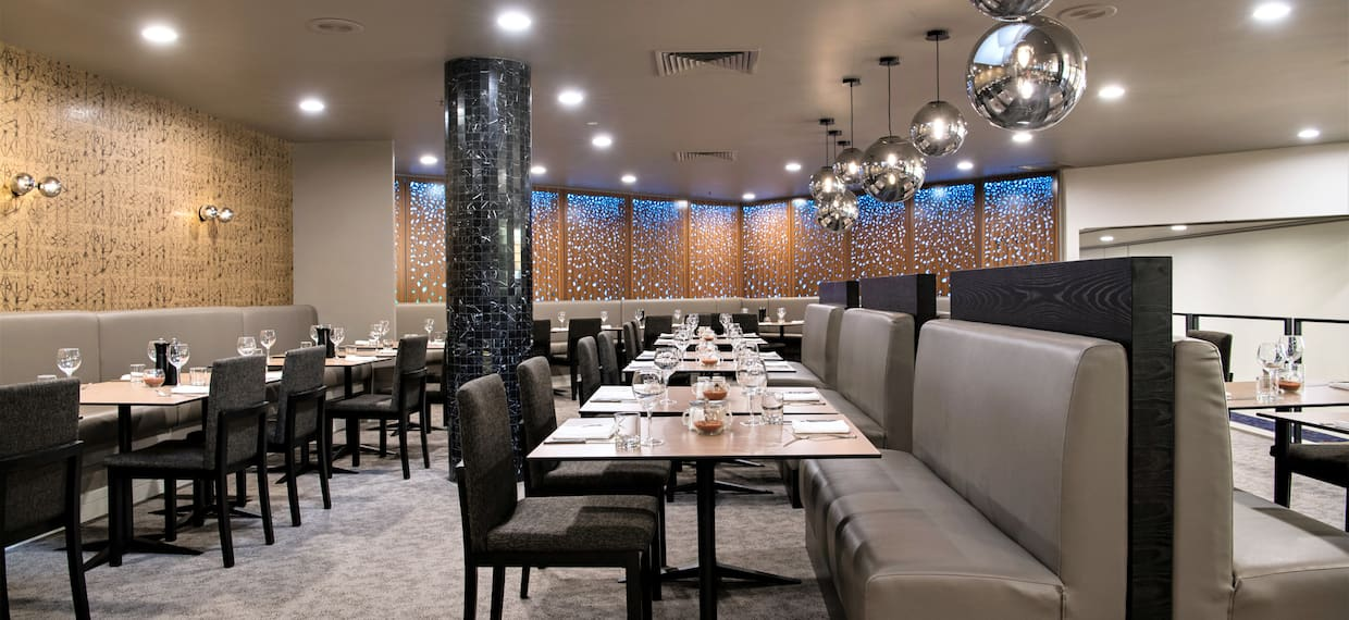 Saltbush Restaurant with tables and chairs