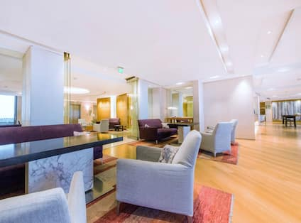 Executive Lounge with seating