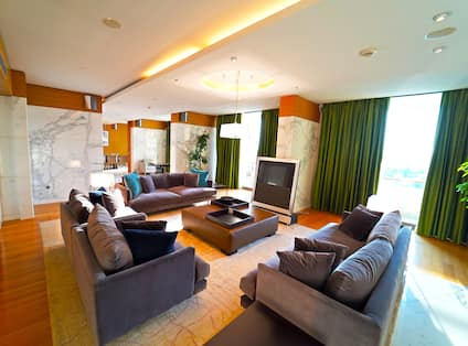 Presidential Suite Living Room Area