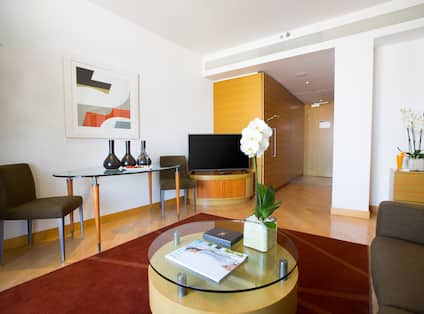 King Business Suite, Living Area