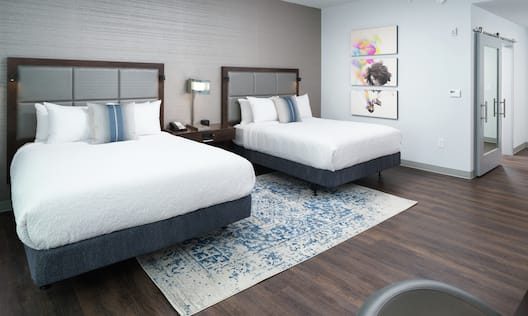 Accessible Guestroom with Two Queen Beds