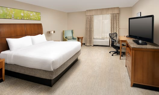 Accessible King Bed Guestroom