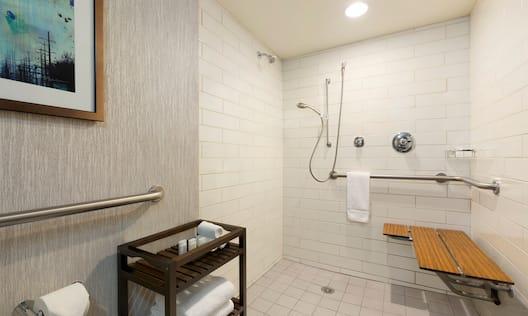 ERoll-in Shower