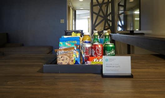 In-Room Premium Snack Selection