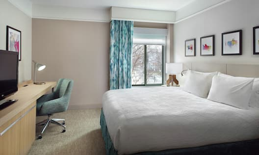 Accessible King Bed Guestroom Bedroom