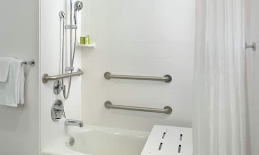 Accessible Hotel Guestroom Bathroom