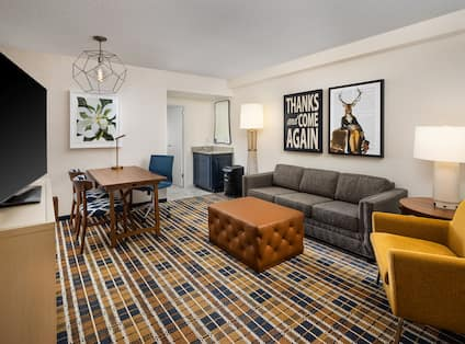 pure room living area