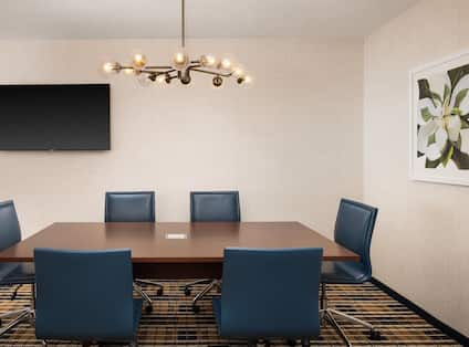 conference suite meeting table