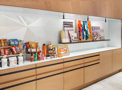 Canopy Pantry with Candies and Snacks