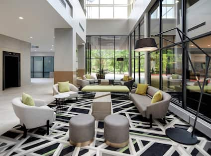 lobby area with comfortable seating