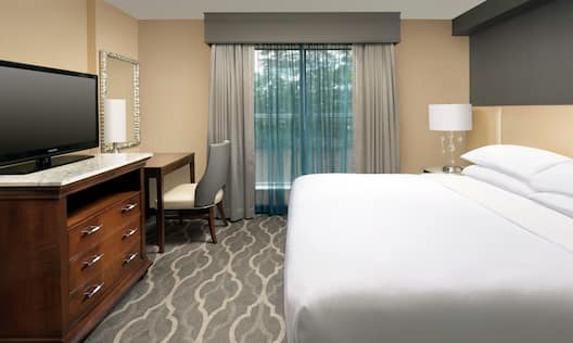 Suite with Bed and HDTV