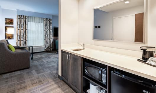 King Studio Suite Wet Bar