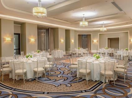 Astor Ballroom Reception Setup