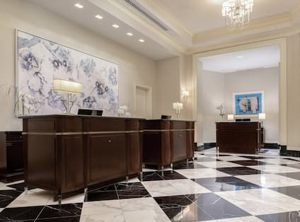Waldorf Astoria Front Desk