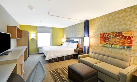 Home2 Suites by Hilton Opelika Auburn Hotel, AL - King Studio