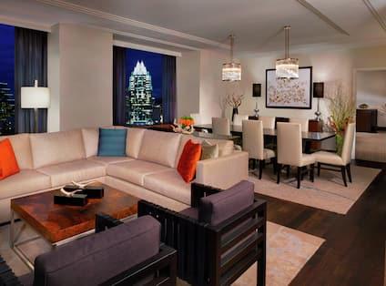 Guestroom Presidential Lounge