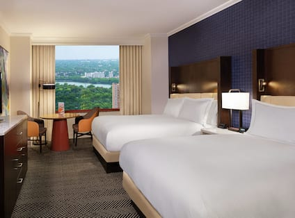 Standard Double Queen Room with View