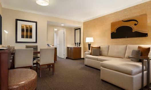Premium Suite Living Area