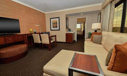 City View Premium Suite Living Room