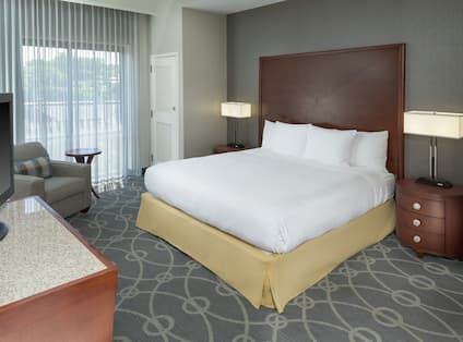 1 King Bed Premium Room with TV and Soft Chair