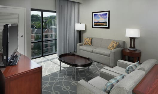 1 King 2 Room Premium Suite with Mountain Views